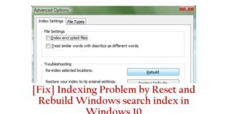 Fix indexing problem