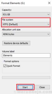 Format-NTFS