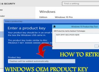 How to extract windows 8 or 10 product key from BIOS / motherboard?