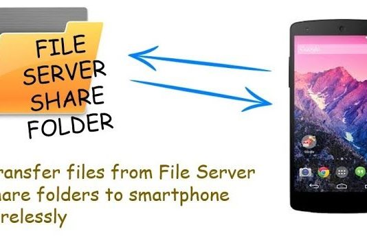 Transfer files in your Mobile