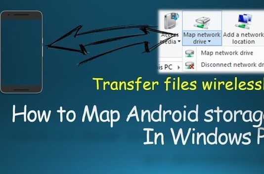 How to Map Android Storage as a Network Drive in Windows PC on wi-fi