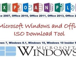 Office ISO download tool