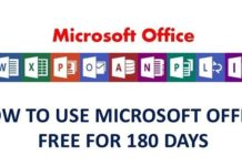 How to use Microsoft office without activation for 180 days | Legally
