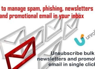 How to manage spam and phishing emails and unsubscribe bulk newsletter in one go