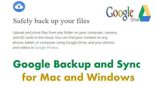 How to Backup and Sync all your computer files on Google Drive