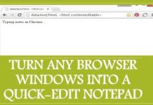 Amazing Trick! turn any browser into basic text editor